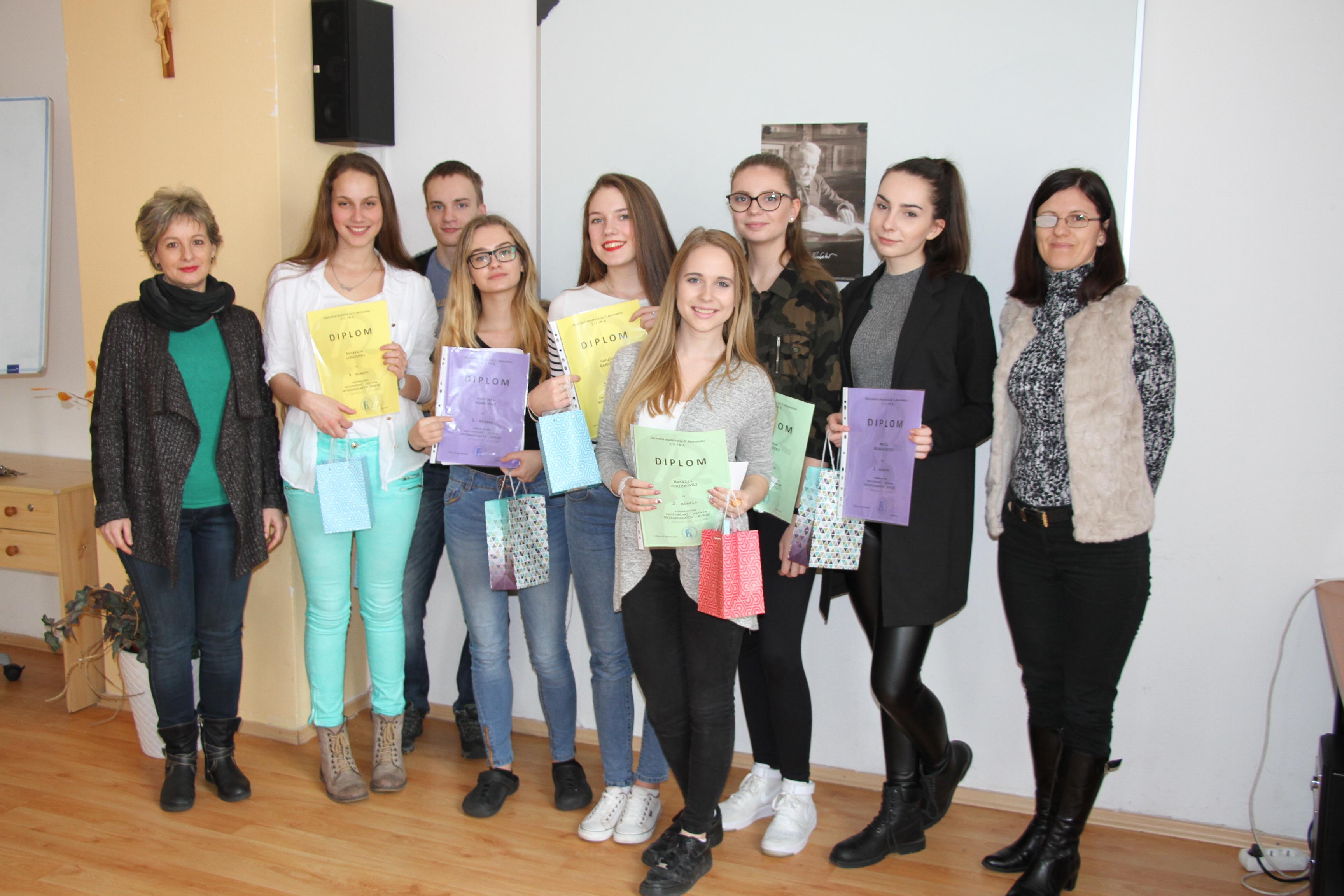 8e4f51443 Hviezdoslavov Kubín - školské kolo 2017 - Obchodná akadémia sv ...