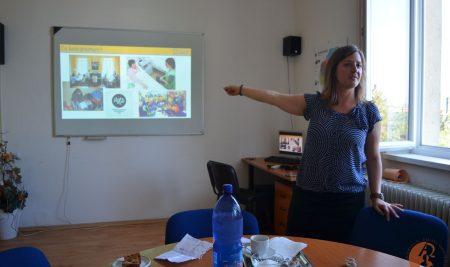 Návšteva z Teach for Slovakia u nás