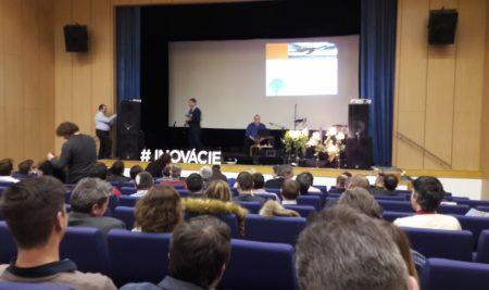 Žiaci a učitelia OATA na Kresťanskej konferencii pre podnikateľov v Nimnici